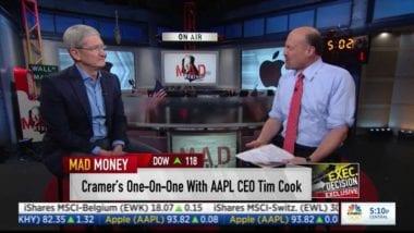 """timcookmadmoneymay2016 380x214 - Tim Cook: """"Pre iPhone máme pripravené skvelé inovácie"""""""