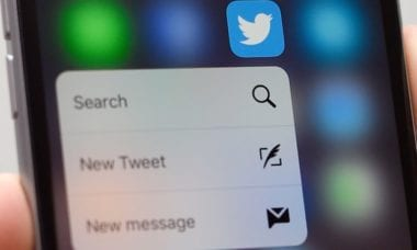 twitter 3d touch guardian 380x228 - Twitter pre iPhone pridal rozšírenú podporu pre 3D Touch gestá