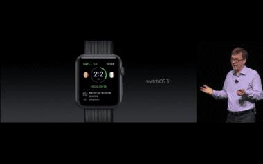 WWDC watchOS 3 380x238 - WWDC 2016: watchOS 3: Dock, Control Center a ďalšie novinky