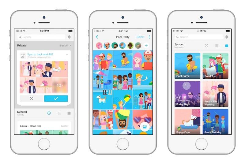 facebook moments - Facebook nás núti inštalovať ďalšiu aplikáciu