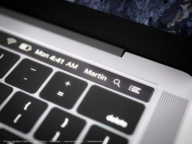 macbook pro oled concept8 380x285 - Nový MacBook Pro môžeme ešte stále očakávať v októbri