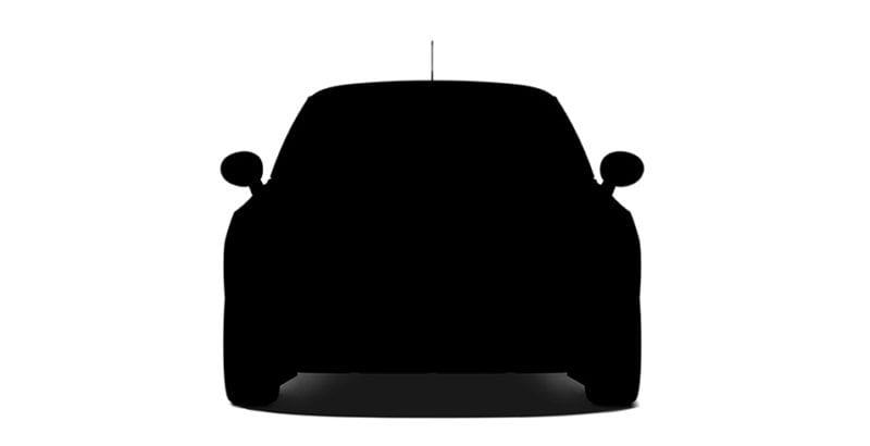 Apple Car silueta