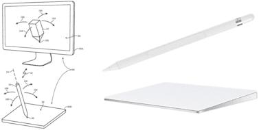 apple pencil mac trackpad 380x190 - Nový patent by umožnil využiť Apple Pencil aj na Macu