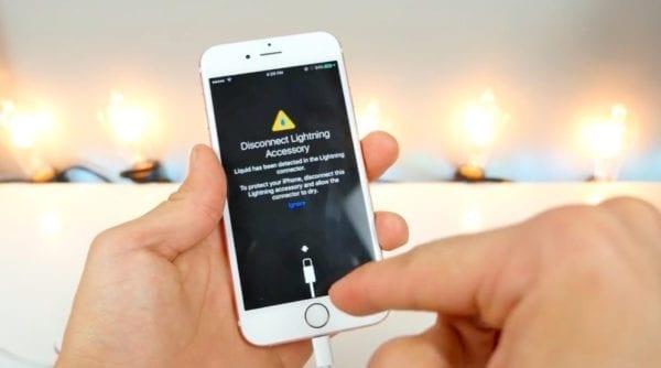 iOS 10 beta vlhkost Lighting