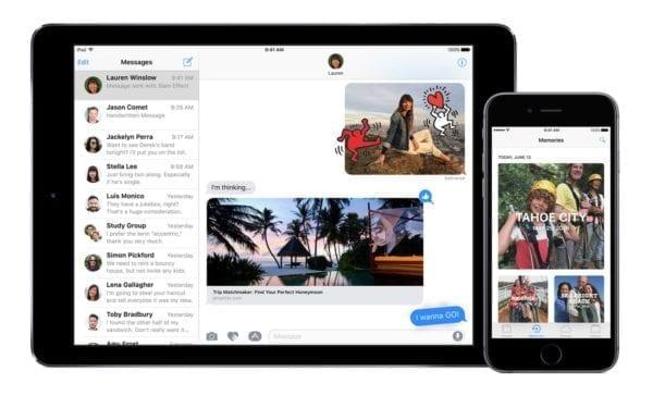 ios 10 iphone ipad photos imessage 600x364 - Apple vydal iOS 11.2.6 a macOS 10.13.3, opravujú chybu s indickými znakmi v Správach