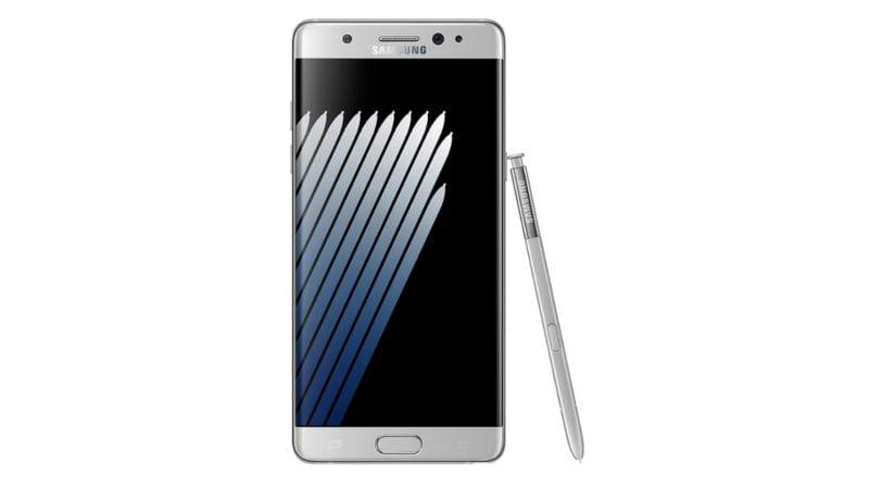 Galaxy Note 7 Titanium Grey