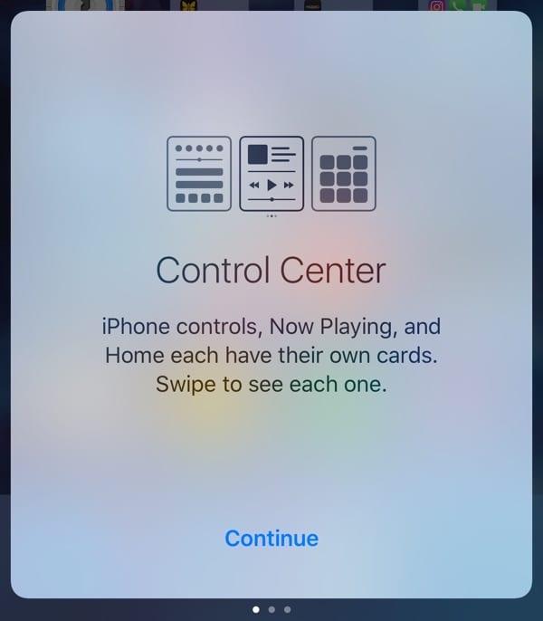 controlcenteropeningscreen - Vyšla štvrtá beta iOS 10, prináša desiatky nových emoji a ďalšie zmeny