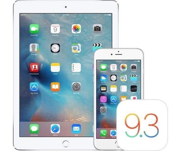 iOS 9.3 600x501 - Apple vydal iOS 9.3.5 s opravami zabezpečení