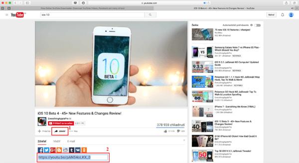 stahovanie youtube mac