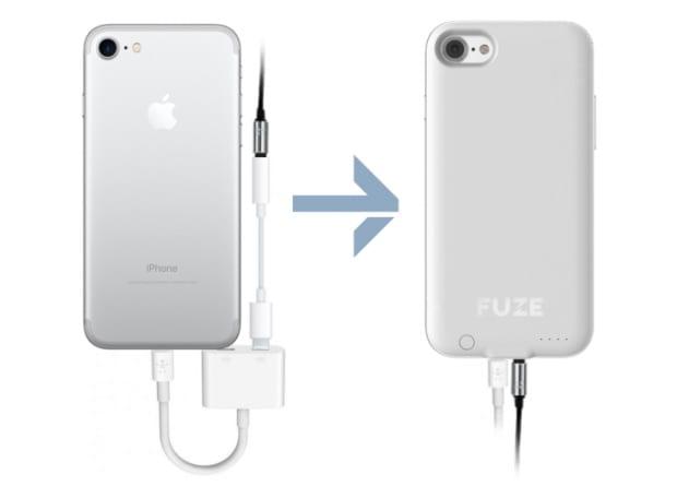 Fuze obal - Nový obal pro iPhone 7 přináší zpět 3,5mm jack