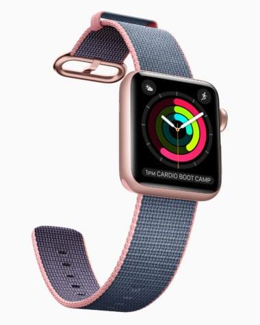 apple watch2 rosegold 380x475 - Apple údajne pracuje na sledovaní spánku pre Apple Watch