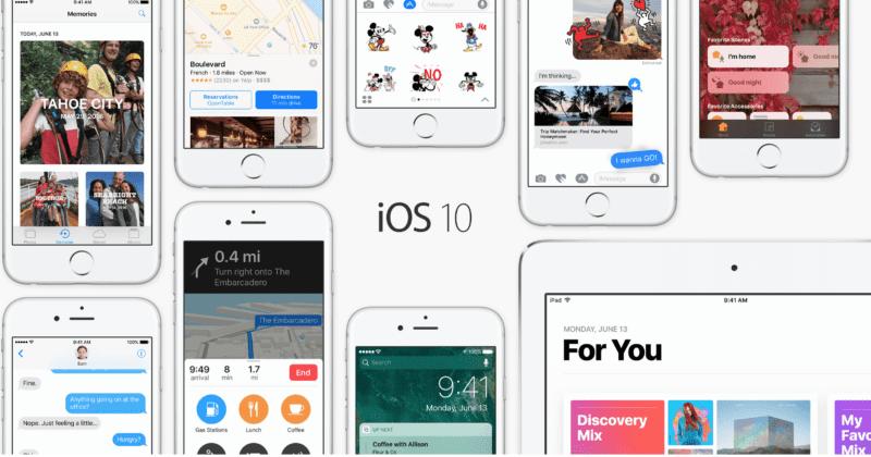 ios 10 800x420 - Jaké všechny novinky se objevily v iOS 10.3?