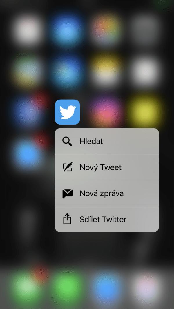 Twitter 3D Tuch