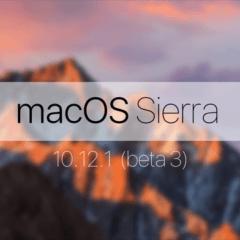 MacOS Sierra beta 3 240x240 - Apple vydal macOS Sierra 10.12.1 beta 3