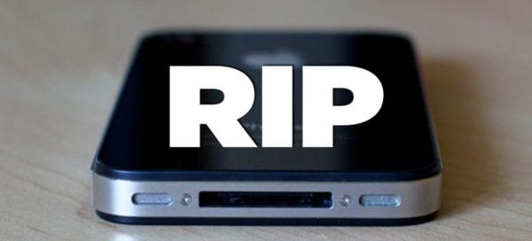 iphone 4 rip