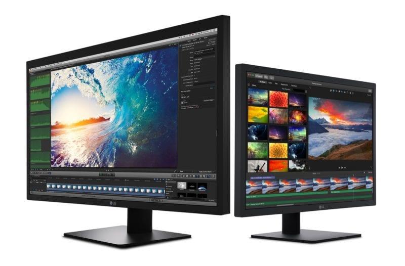 lg 5k 4k ultrafine displays 800x526 - Apple spolu s LG predstavil 4K a 5K displeje, určené sú pre nové MacBooky