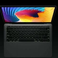 "macbook pro no touch pad 240x240 - Touch Bar vyrába Samsung, Apple testuje 12"" MacBook s OLED displejom"