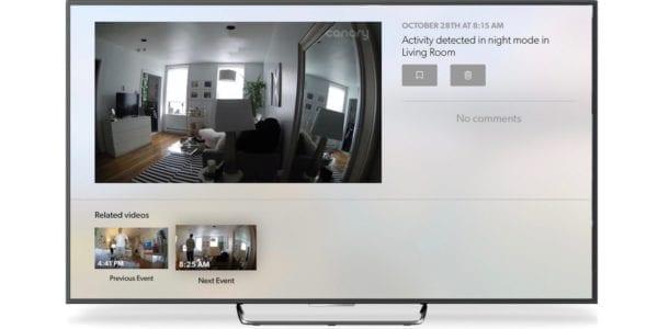 Canary Apple TV 600x300 - Záznam z bezpečnostní kamery Canary je teď na Apple TV