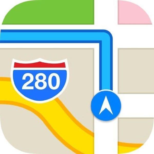 Maps iOS7 600x600 - Aktuálne dopravné informácie v Apple Maps už majú podporu pre Bulharsko, Slovensko a Slovinsko
