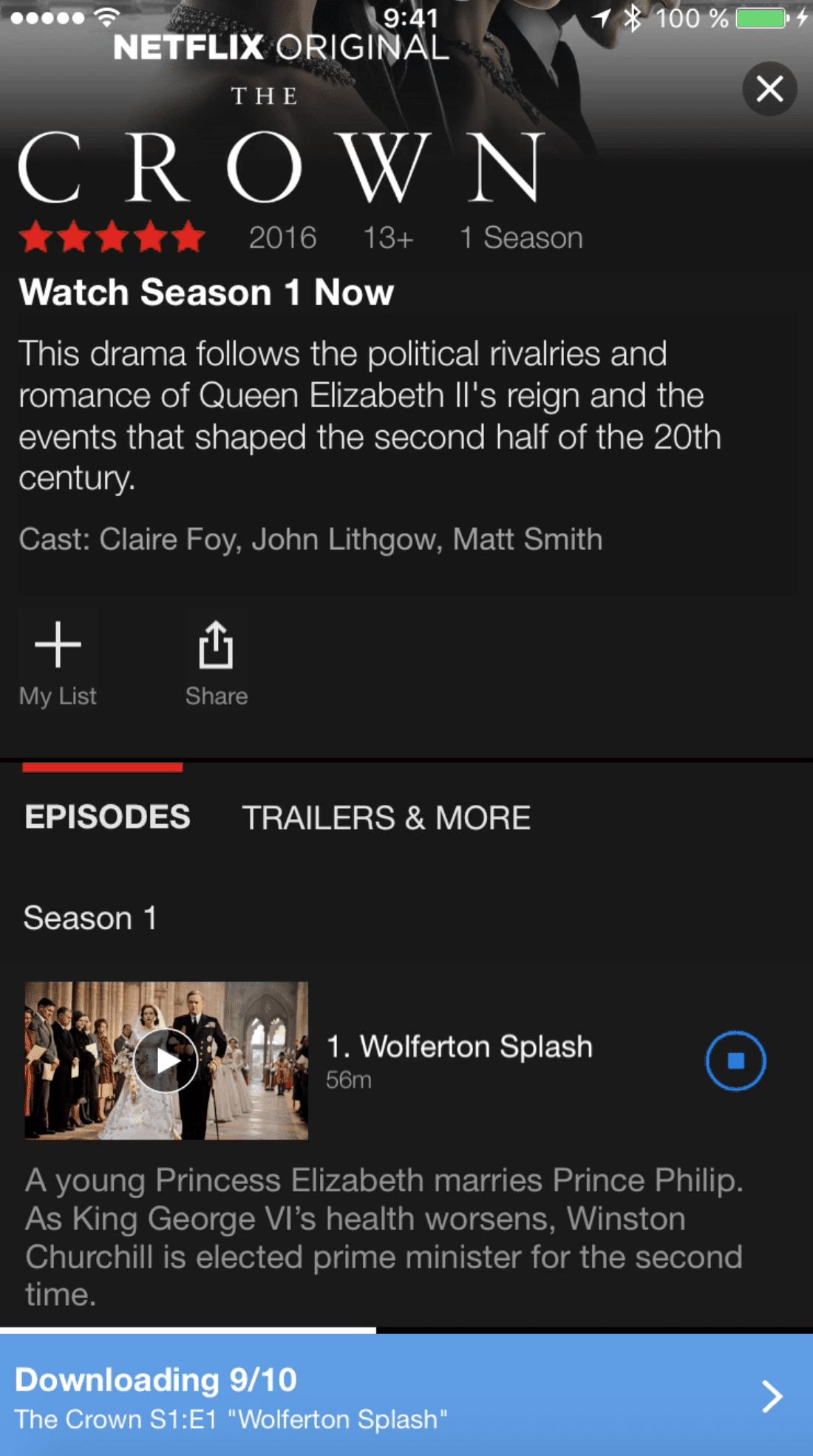 Netflix 1 - Netflix umožní stahování pořadů na mobilních zařízeních