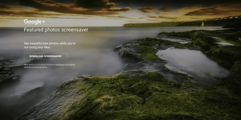 Spořič 800x400 - Google uvedl nádherný spořič obrazovky pro Mac