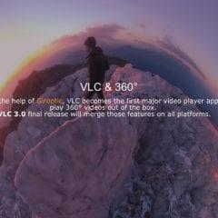 VLC 2 240x240 - Přehrávač VLC získal podporu 360° videí a fotek