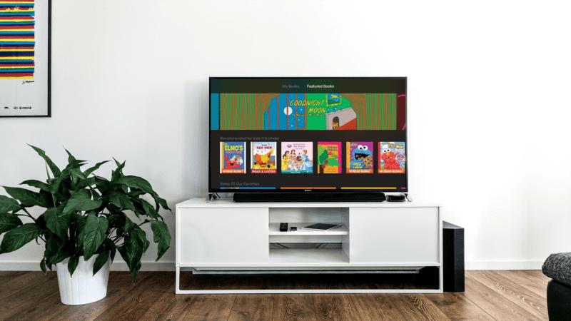 apple tv ibooks storytime 800x450 - Apple vydal iBooks Storytime, novú aplikáciu pre Apple TV