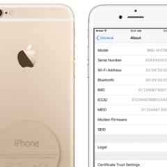 iPhone serial number 240x240 - Jak zjistit zda-li máte nárok na výměnu baterie na iPhone 6s?