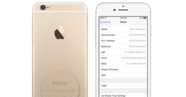 iPhone serial number 380x199 - Jak zjistit zda-li máte nárok na výměnu baterie na iPhone 6s?