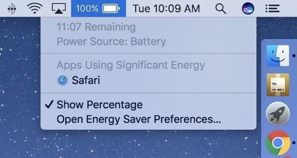 10.12.2 600x319 - V macOS Sierra již nenajdeme ukazatel zbývající baterie