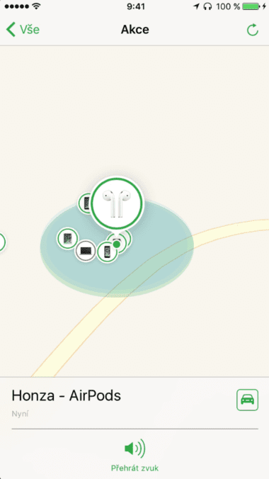 Find my AirPods 2 380x676 - Apple vydal oficiální Find My AirPods v iOS 10.3