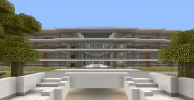 Minecraft Apple Campus 2
