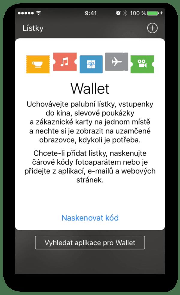 Wallet 600x986 - Jak přidat lístky/letenky do aplikace Wallet?