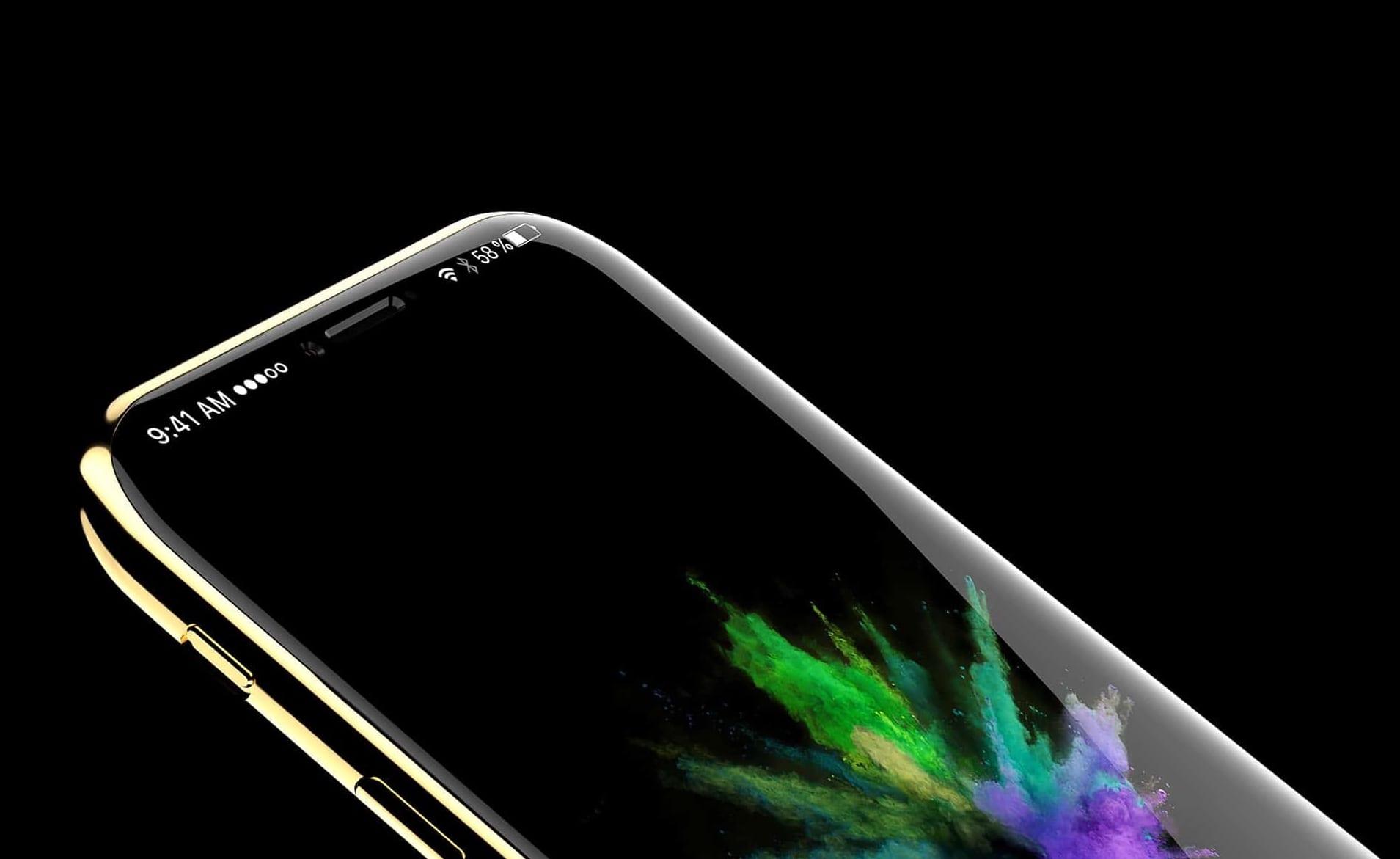 iphone 8 concept gold handy abovergleich - Nový iPhone 8 bude mať možno exkluzívnejší názov