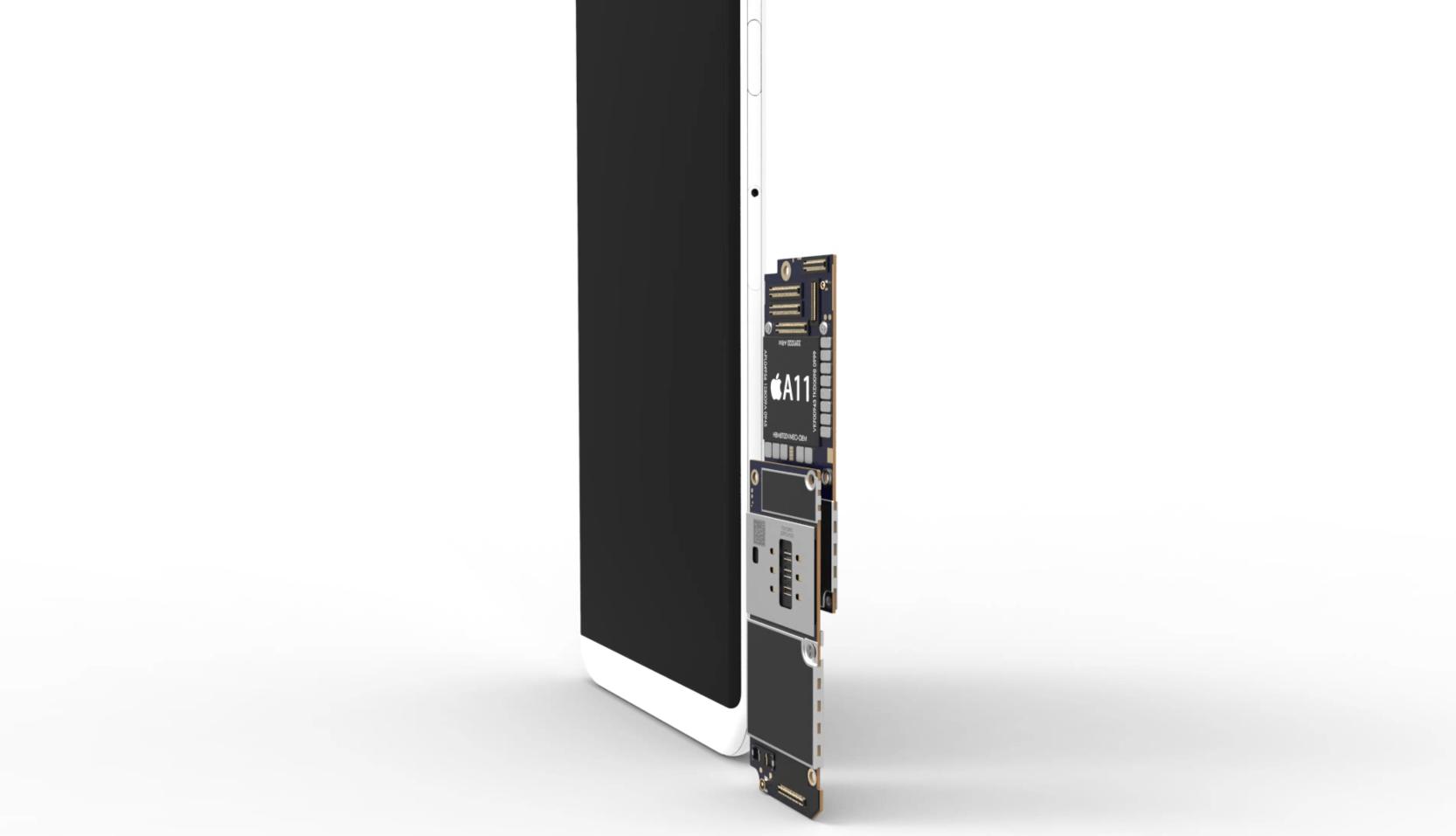 Skládací motherboard - iPhone 8: Jakých se dočkáme komponentů?