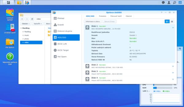 Synology DiskStation Manager Storage Management
