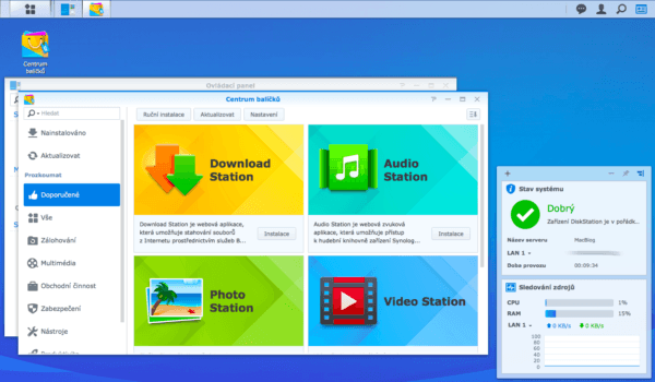 Synology DiskStation Manager Store