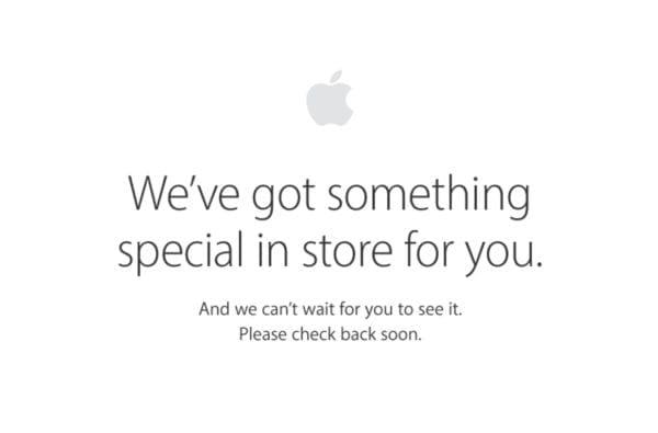 apple online store special 600x395 - Apple Online Store byl právě vypnut před zahájením dnešní konference