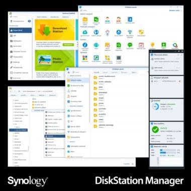 synology disk station manager tit 380x380 - Synology DiskStation Manager: Systém, ktorý dodáva NAS identitu
