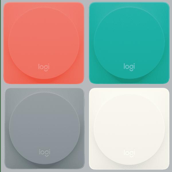 Logitech POP button 600x601 - Logitech představil první porogramovatelné tlačítko POP podporující HomeKit