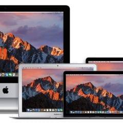 """Mac Devices Family macOS Sierra 240x240 - Intel predstavil nové čipy, čaká nás Core i9 a 13"""" MacBook s quad-core?"""