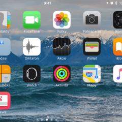 """Obrácená obrazovka 240x240 - Jak vypnout rotaci domácí obrazovky na větších """"Pluskových"""" iPhonech?"""