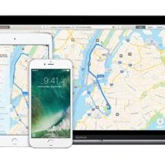 apple maps macbook iphone ipad devices 240x240 - Apple Maps zobrazujú informácie o nabíjacích staniciach pre elektromobily už aj v Anglicku