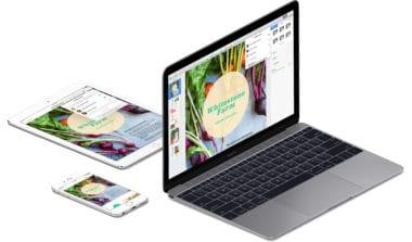 iwork pages mac ios devices 380x223 - iMovie, GarageBand a sada iWork pre Mac a iOS sú odteraz zadarmo pre všetkých