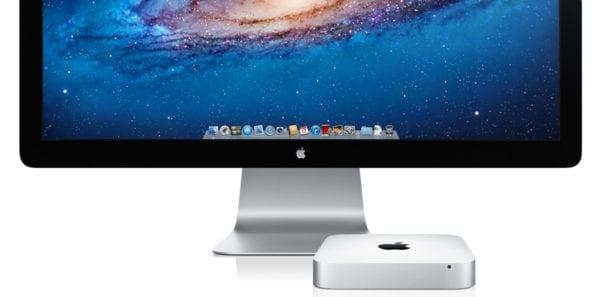 mac mini and thunderbolt display 600x297 - Ming-Chi Kuo očakáva nový Mac mini, 45mm Apple Watch a nový MacBook