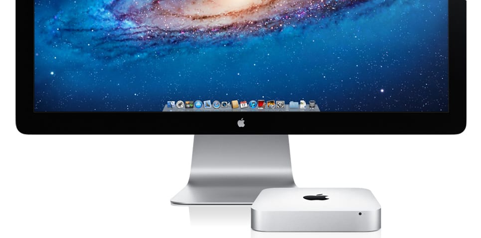 mac mini and thunderbolt display - Októbrový event: nové iPady, Pencil, MacBook Air, Mac Mini a viac…