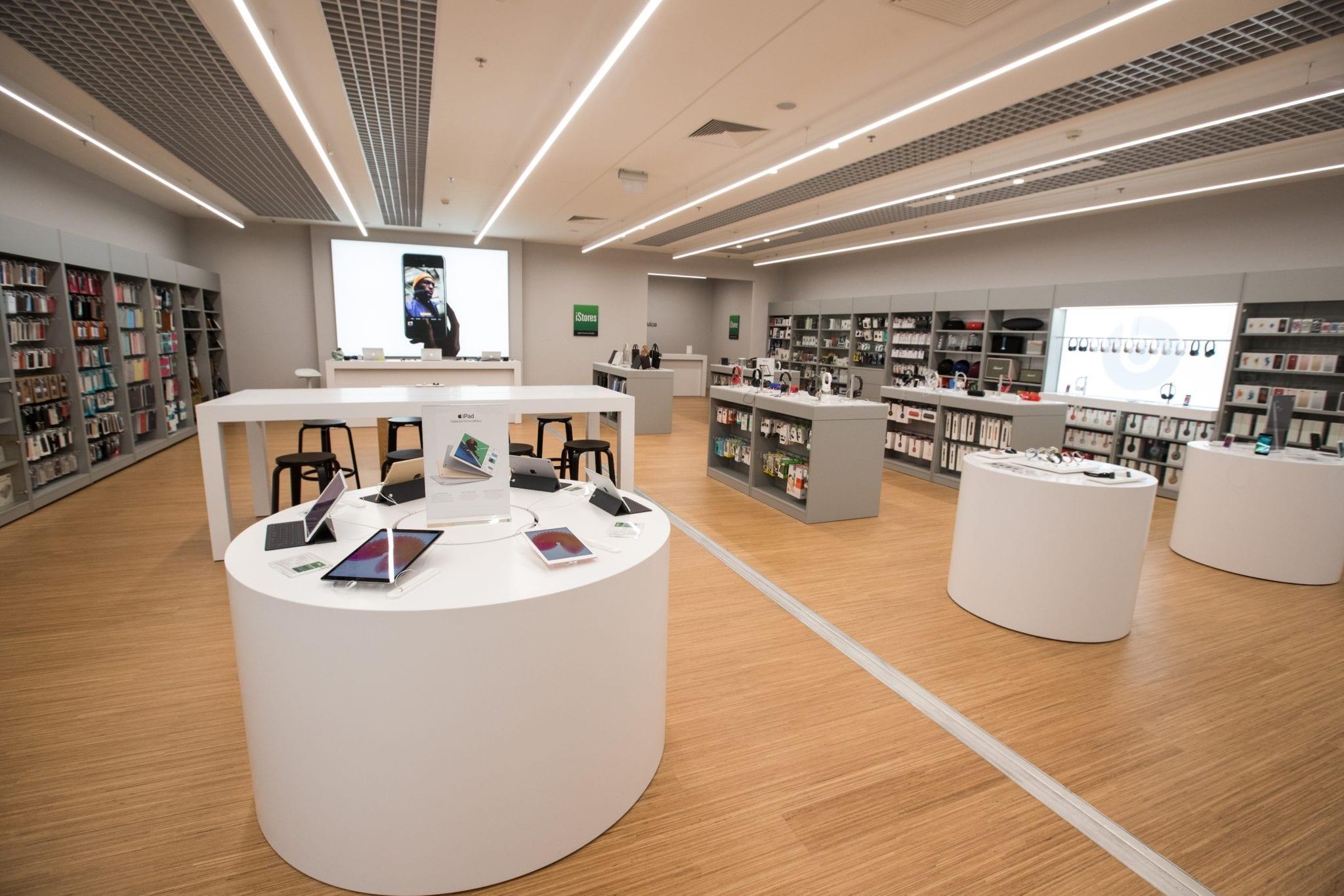 GTF 7742 - iStores otvoril svoju najväčšiu predajňu v OC Avion v Bratislave