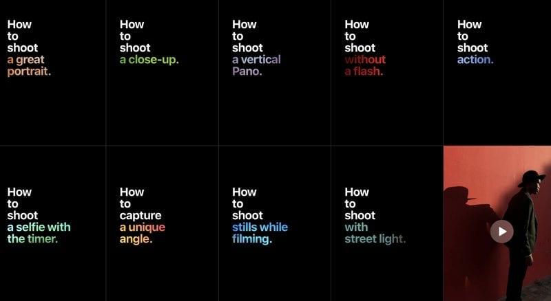 """applephotographyhowto 800x438 - Apple vytvoril novú webovú stránku na ktorú pridal videá s kampaňou """"How to Shoot on iPhone 7"""""""