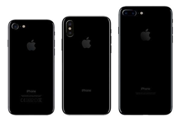 iPhone 8 iPhone 7 Size Comparison iDrop News 1 2 600x428 - Uniknutá verzia iOS 11 odhaľuje názvy troch nových iPhonov