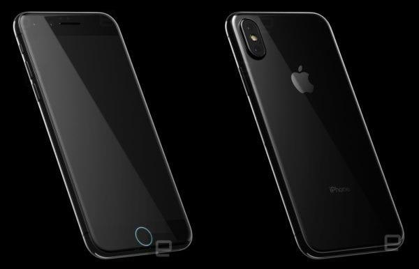 iphone 8 render front